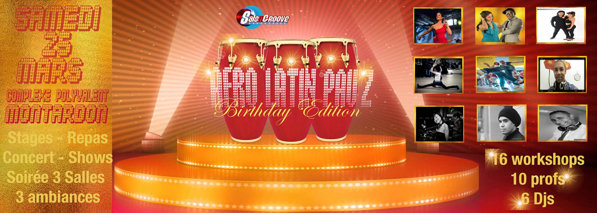 Afro Latin Pau'Z – Birthday Edition – 25 mars
