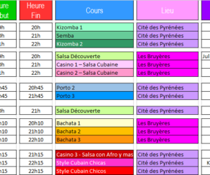 Planning 2018-2019!