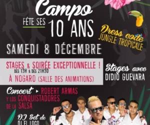 10 ans de Salsa Campo – Mambo Bus annulé et news