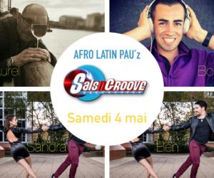 Afro Latin Pau'Z et stages le samedi 4 mai