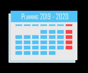 Saison 2019 – 2020: Les profs, le planning, les cours