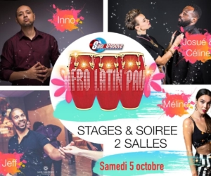 Afro Latin Pau'Z et stages le samedi 5 octobre