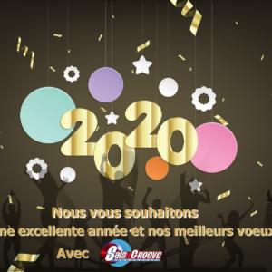 Meilleurs voeux 2020 par Salsn Groove